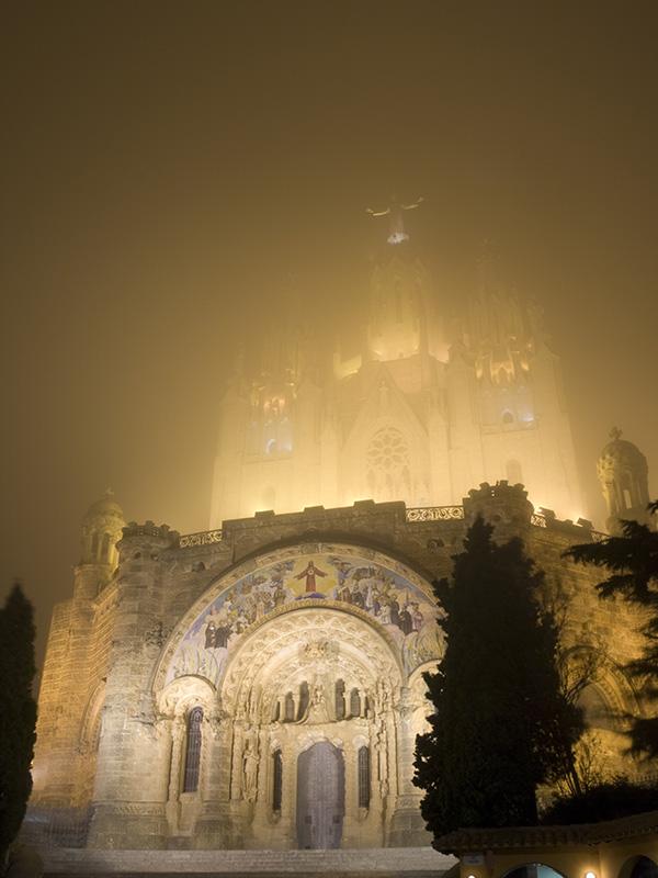 Niebla en el Tibidado
