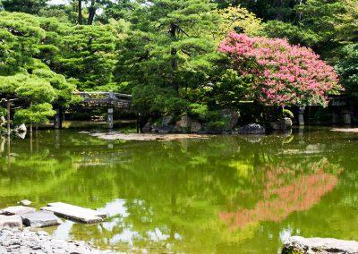 Jardín. Palacio Imperial de Kyoto