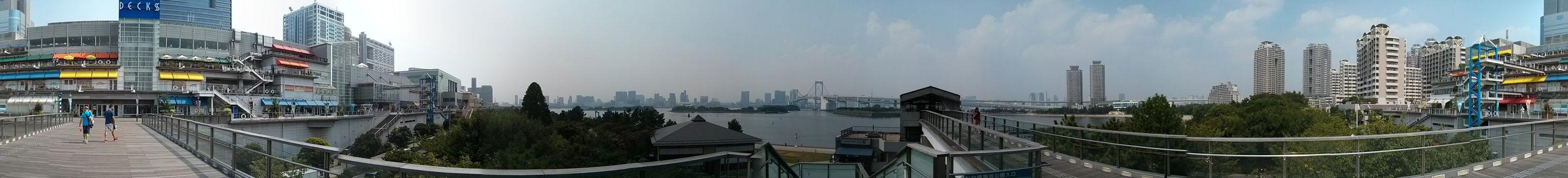 Vista en 360º desde el Muelle en el Decks