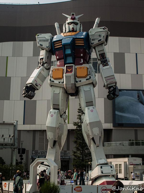 Gundam Gigante de Odaiba