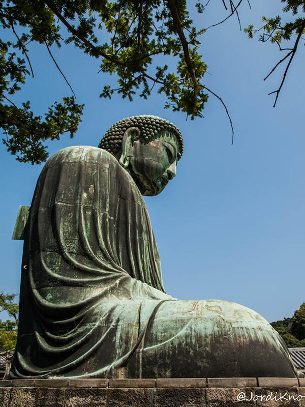 Ventana abierta en la espalda del Daibutsu