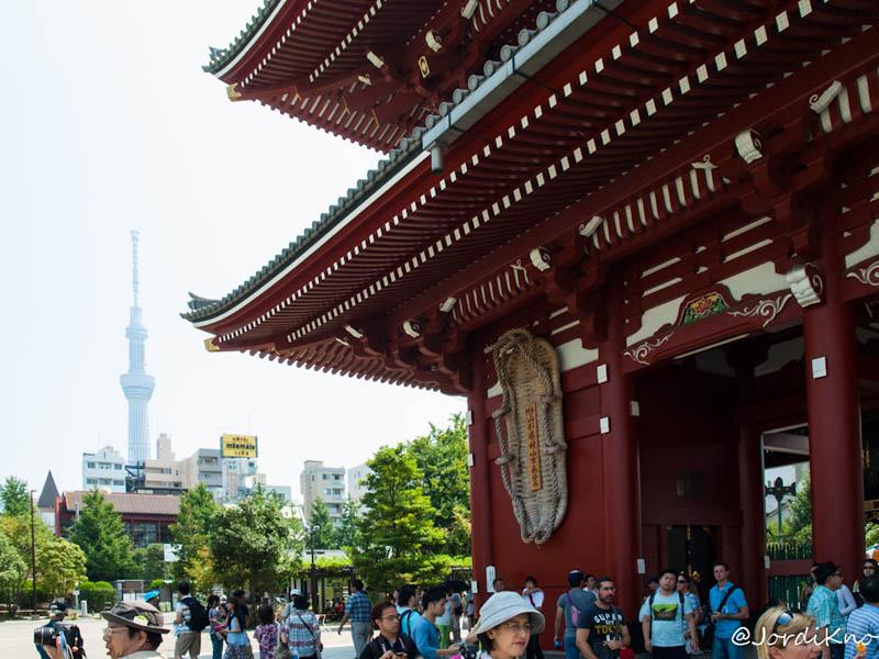 Hozomon y Tokyo Sky Tree