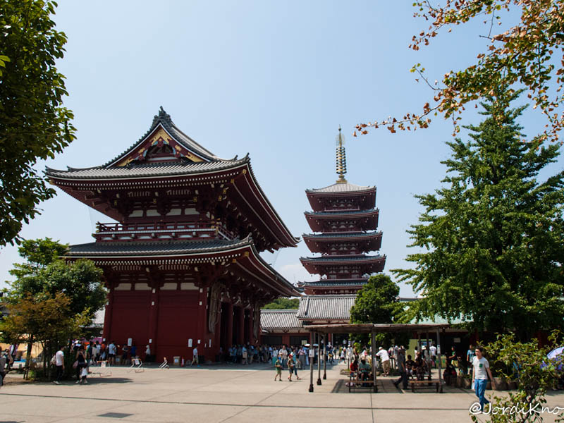 Hozomon y Pagoda