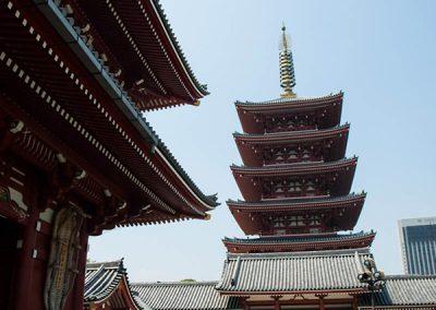 Pagoda de 5 alturas