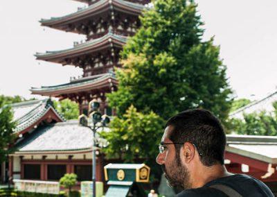 Pagoda de 5 alturas, Templo Senso-ji