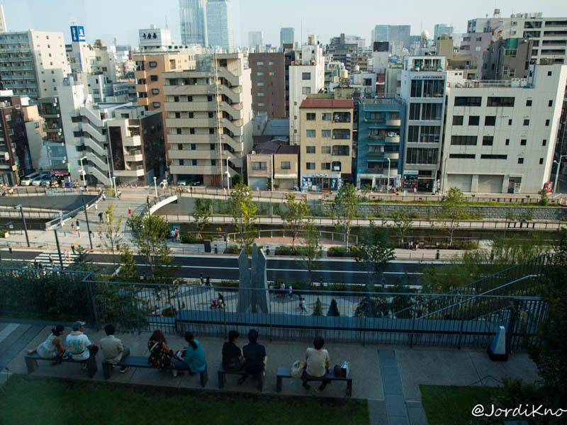 Terraza en la 4ª planta de Solamachi