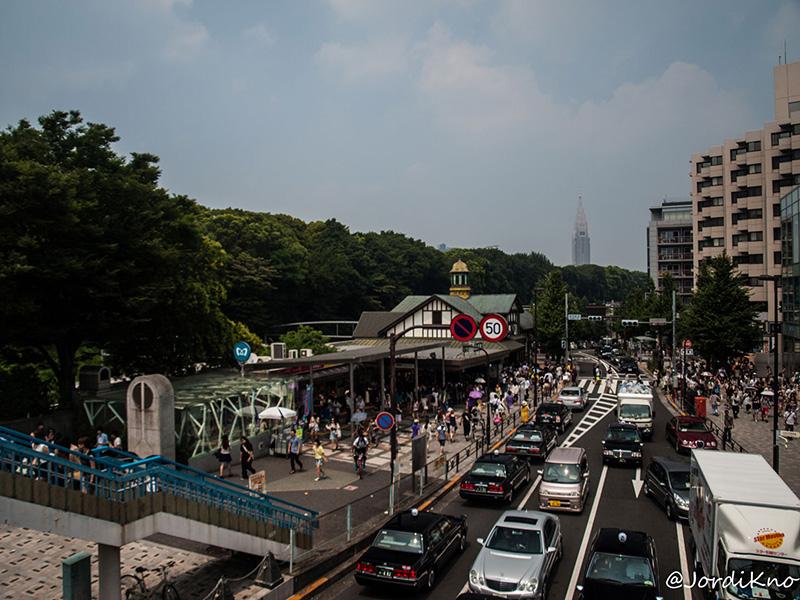 Entrada a la estación de Harajuku