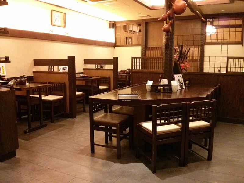Restaurante en la zona de Omotesando
