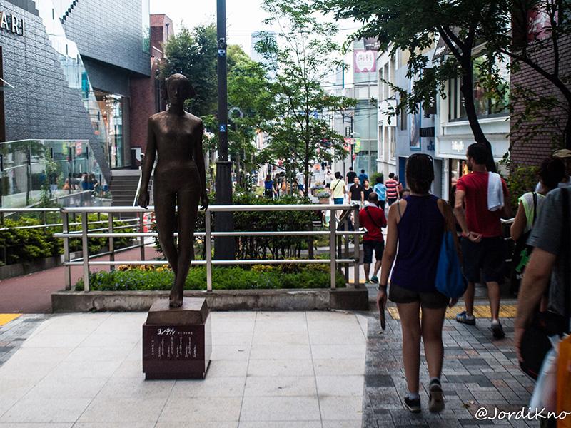 Zona peatonal de Omotesando