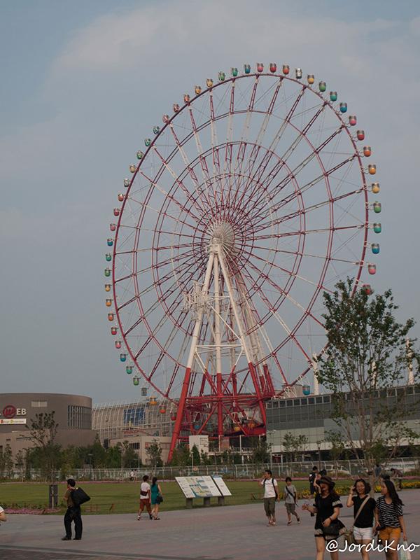 Noria en el Palette Town de Odaiba
