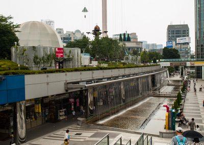 Fuentes, Tokyo Dome City