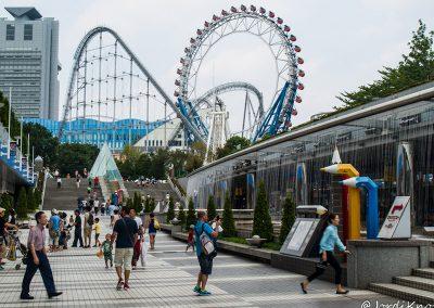 Avenida comercial y atracciones, Tokyo Dome City