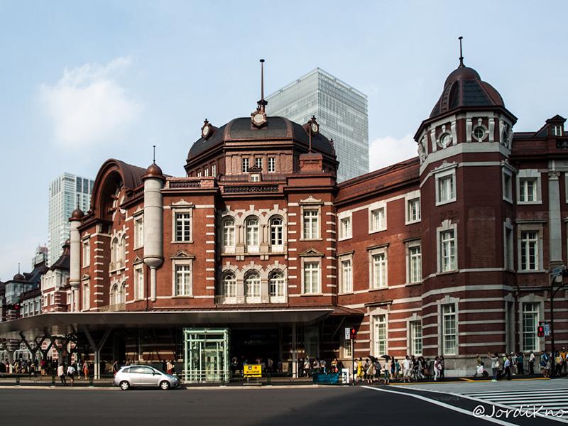 Una de las entradas a la Tokyo Station