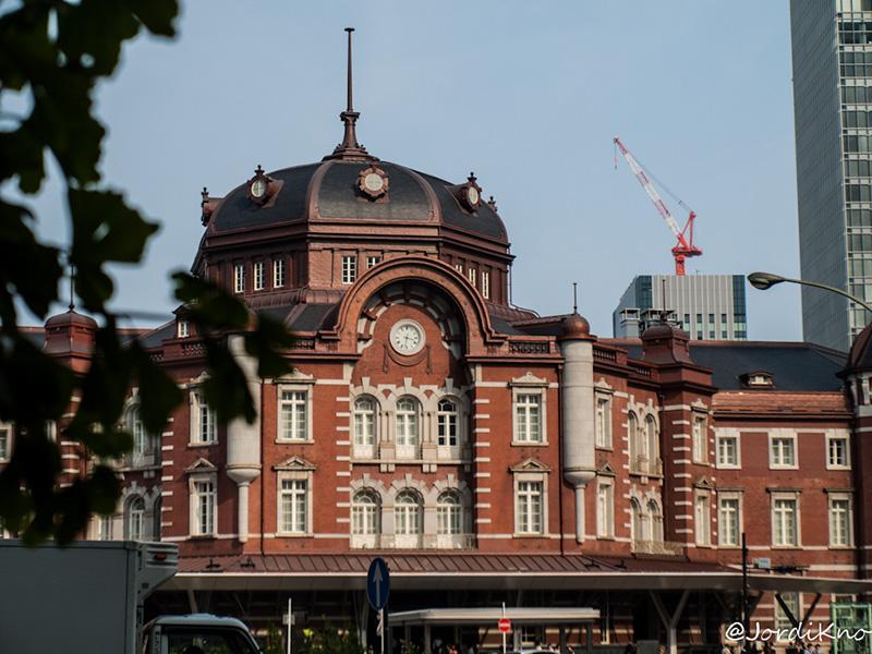Bóbeda octogonal y reloj, Tokyo Station