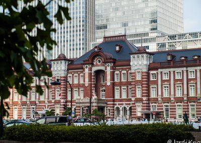 Entrada al The Tokyo Station Hotel