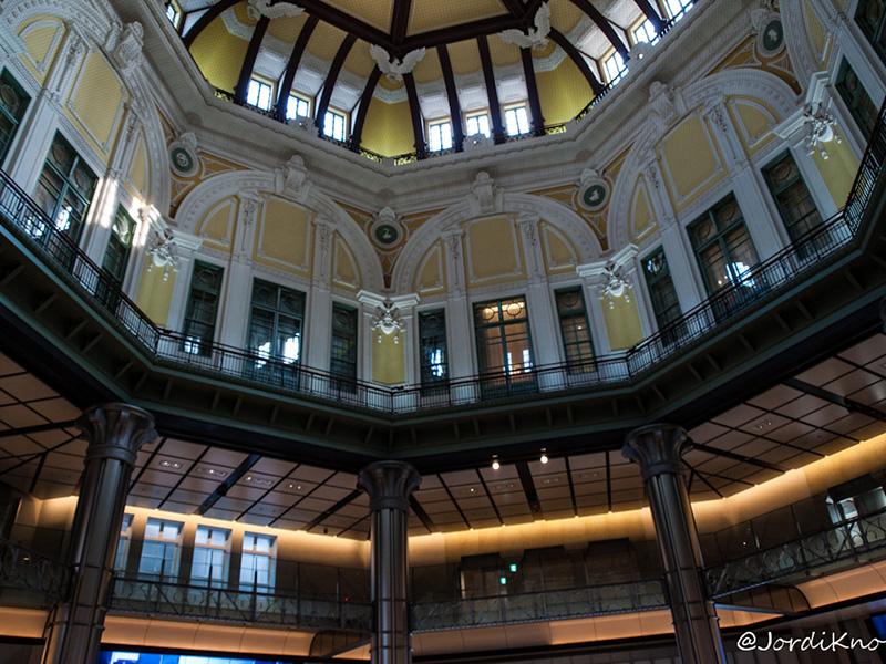 Interior de la bóbeda, Tokyo Station