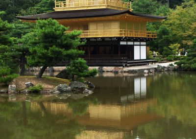 Kinkaku-ji, Templo del Oro, Kyoto