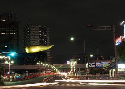 Llama de Asahi, Asakusa