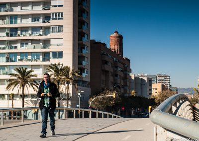 Foto tomada en la Photowalk Mar Bella y Glòries, Barcelona.