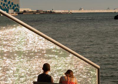 Reflejos del mar