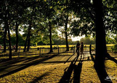 Atardecer en Holland Park