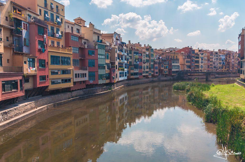 Casas del Onyar en Girona