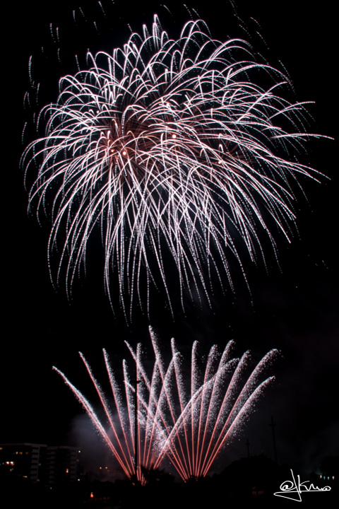 Fuegos artificiales Sant Joan Despí