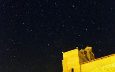 Noche estrellada en Àger, Lleida
